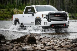 how to engage a four-wheel drive gmc sierra