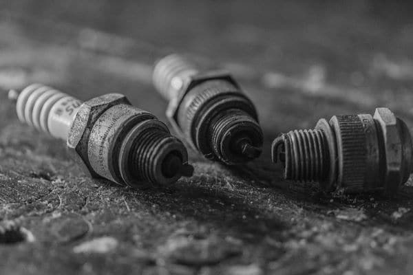 Worn-out spark plugs