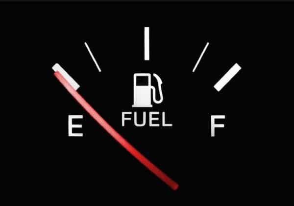 signs of fuel clog