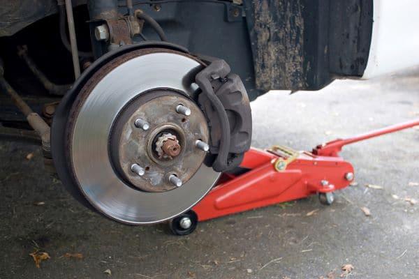 Silverado brake pad replacement