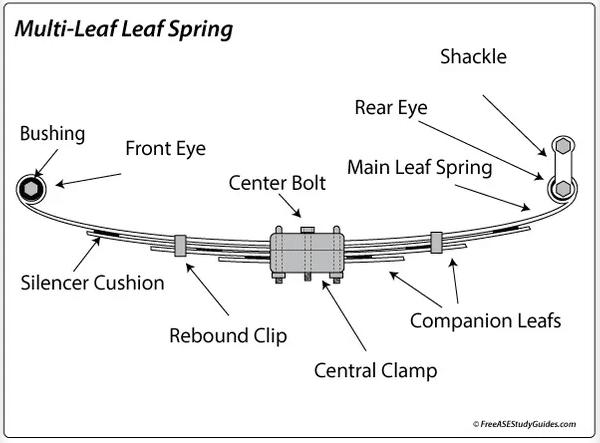 Leaf suspension diagram