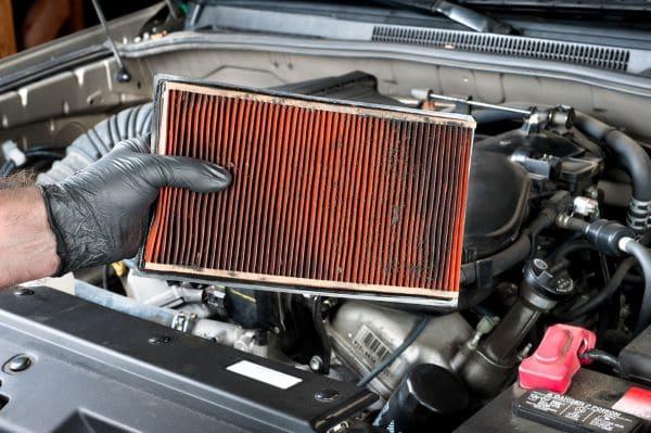 engine air filter - reasons car won't start