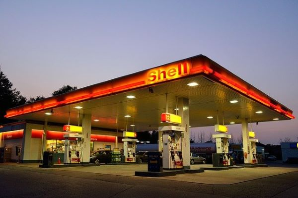 Shell gas station